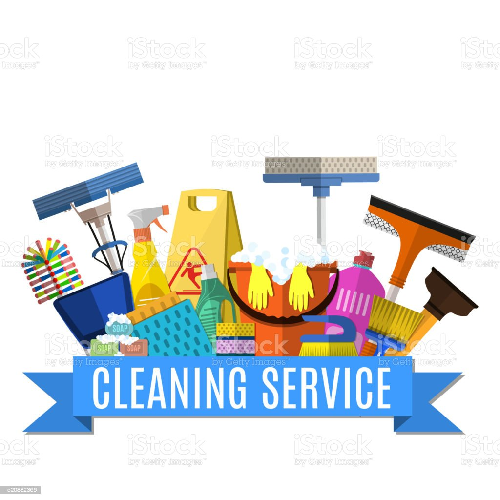 cleaning service illustrations  royalty-free vector graphics  u0026 clip art