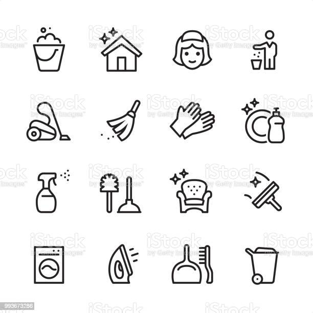Cleaning service outline icon set vector id993673286?b=1&k=6&m=993673286&s=612x612&h=r6ypzdoxmcrel9hh9zezh5hpwbpk6kxuswwj xql7yk=