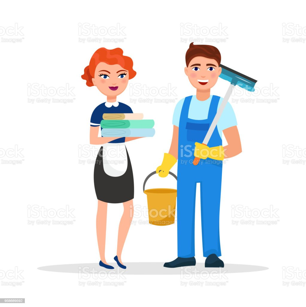 Hotel Housekeeping Services: Royalty Free Hotel Housekeeping Clip Art, Vector Images