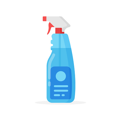 Cleaning Spray Bottle Icon. Cleaning and Hygiene Concept Vector Design.