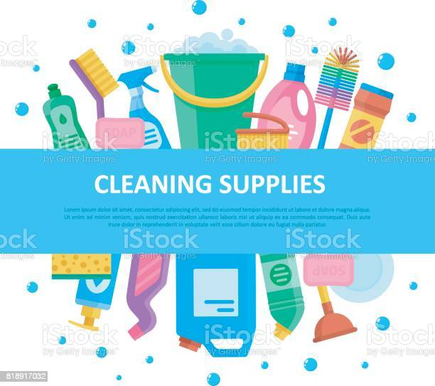 Cleaning supplies set with central lettering vector id818917032?b=1&k=6&m=818917032&s=612x612&h=4 gbdc ebxeupef4fxl0vkbggupnkrbrtrdwhtdh5ac=