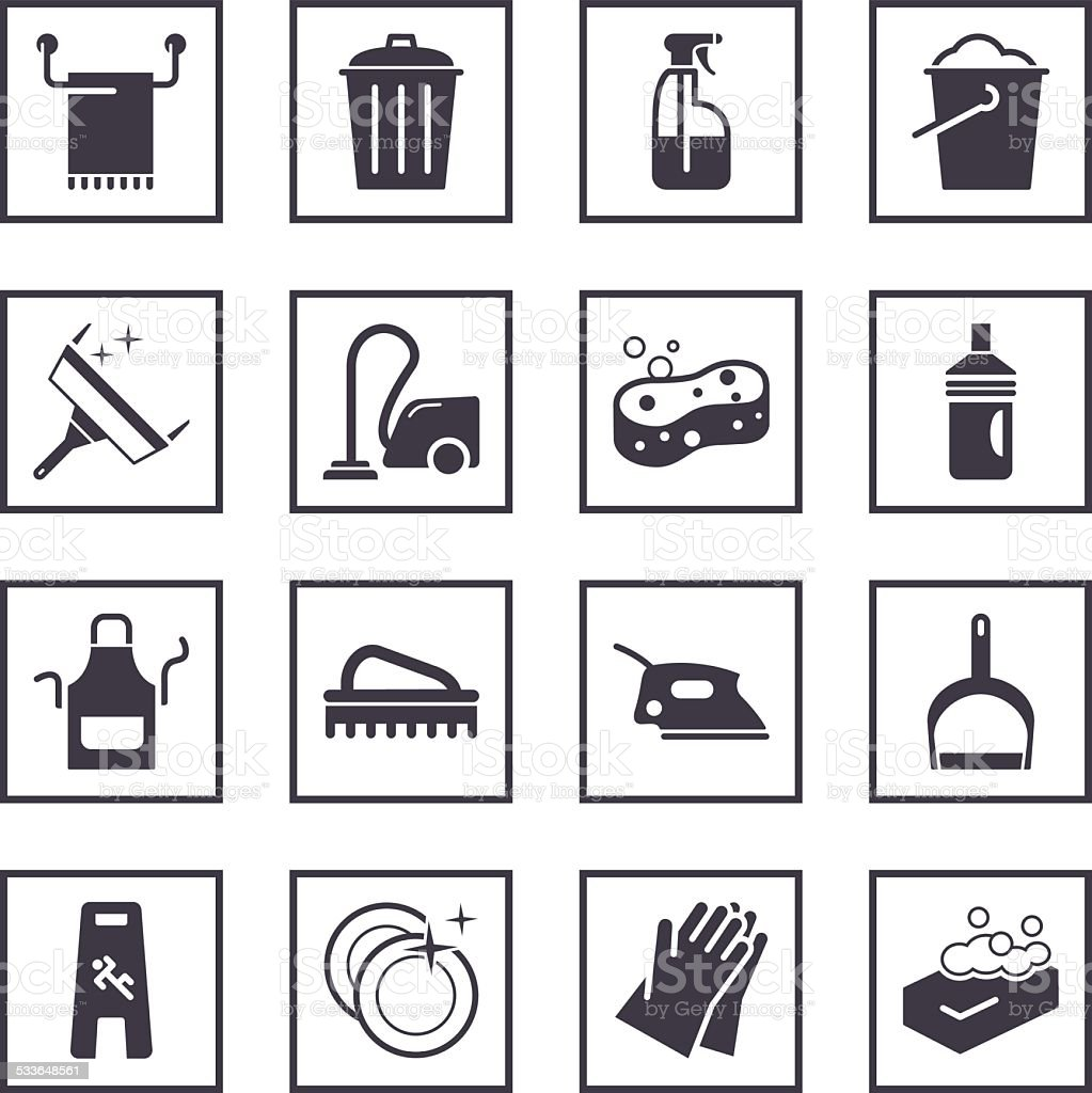 Cleaning symbols stock vector art more images of 2015 533648561 cleaning symbols royalty free cleaning symbols stock vector art amp more images of 2015 biocorpaavc Image collections