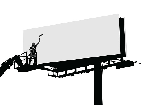 Cleaning The Billboards