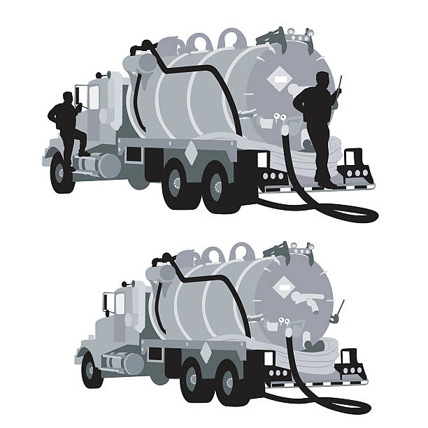 Vacuum truck Commercial vehicle Machine Vacuum cleaner, truck transparent  background PNG clipart | HiClipart