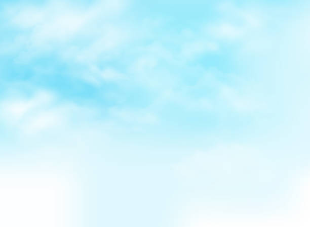 Clear blue sky with clouds pattern background illustration. Clear blue sky with clouds pattern background illustration. eps10 sky blue stock illustrations