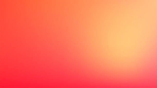 Clear Blurred Background with Warm Colors Blend. Clean Defocused Backdrop Clear Blurred Background with Warm Colors Blend. Clean Defocused Backdrop for Your Products, Advertising, Banners, Logos color gradient stock illustrations