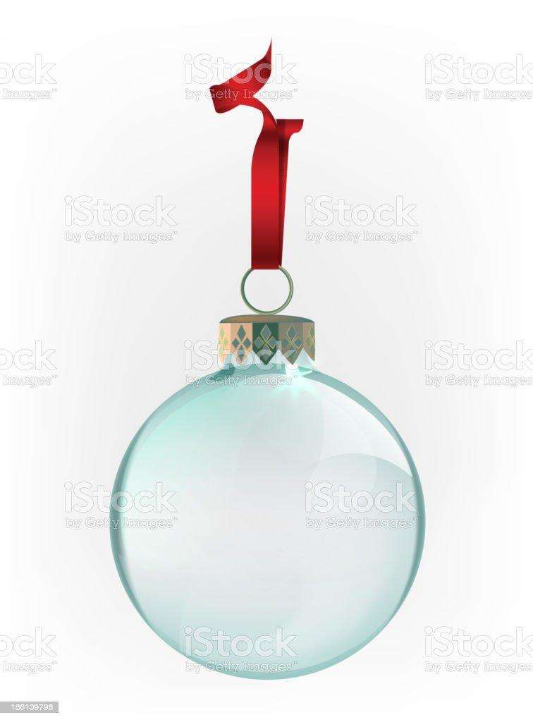 Bolas de Navidad - ilustración de arte vectorial