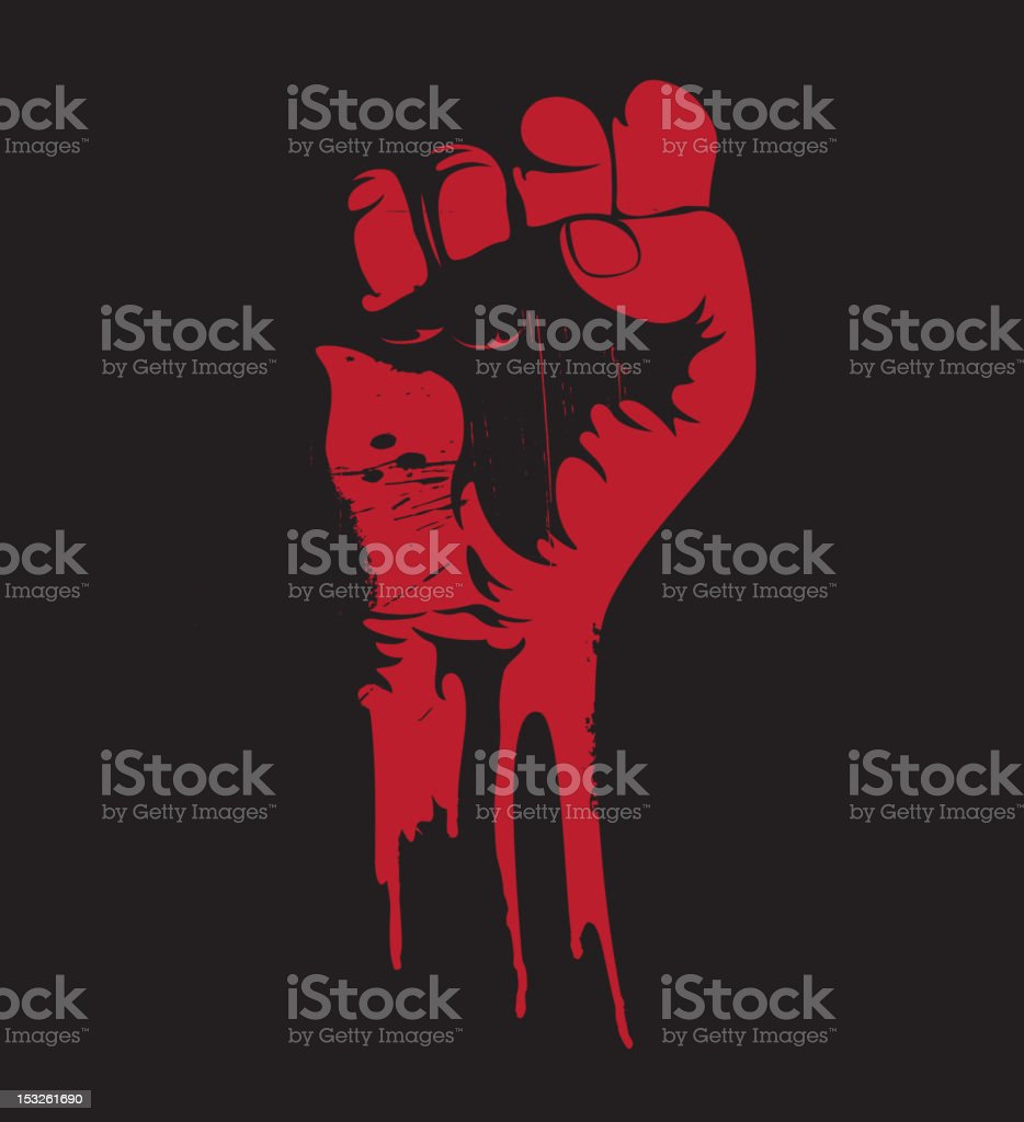 clenched fist royalty-free clenched fist stock vector art & more images of anger
