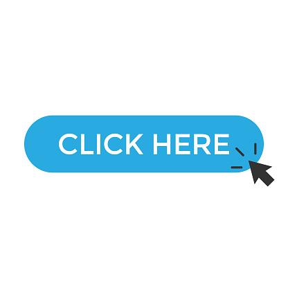 Click Here Button and Mouse Cursor Icon Vector Design.