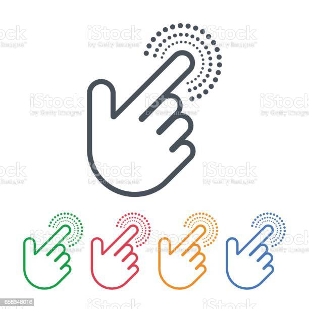 Click icons with hand cursors vector design pointer symbols vector id658348016?b=1&k=6&m=658348016&s=612x612&h=xtu5i2pikf6shcicxt9pe1 wytv1whlj8akzijlkjiu=