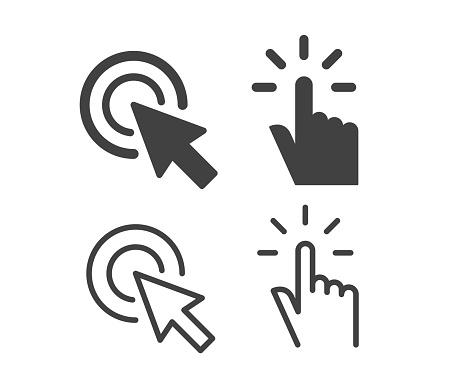 Click - Illustration Icons