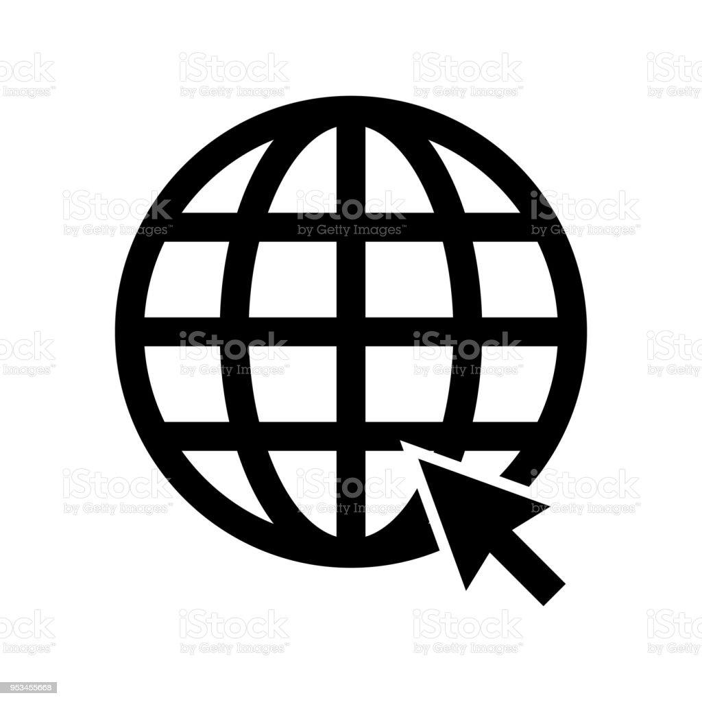 Cliquez ici pour accéder au site Web ou internet ligne art icône apps et  sites Web 480ec14dac13