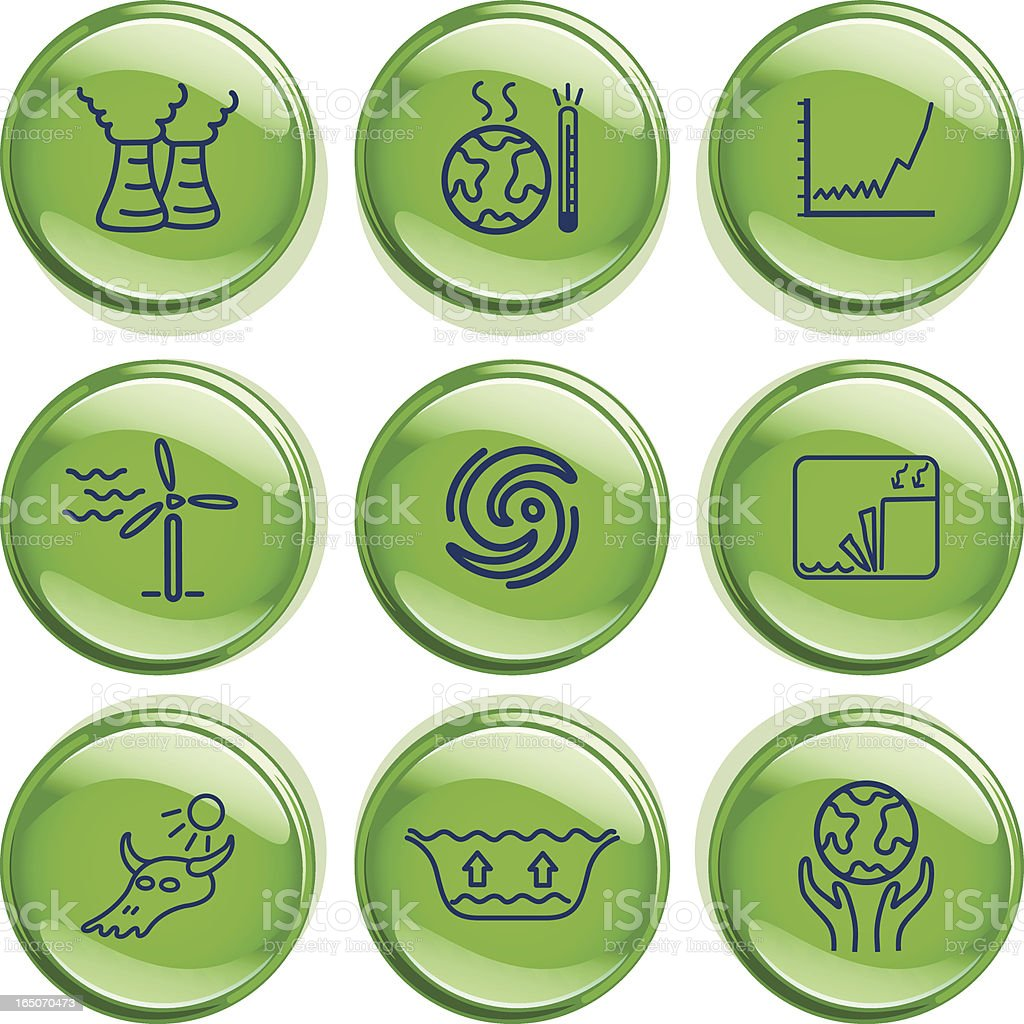 Climate Change Badges royalty-free climate change badges stock vector art & more images of alternative energy