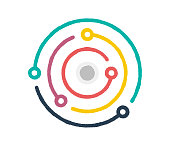 Doodle vector icon illustration of climate change. Designed with flat colors and subtle lines. It's suitable for web, infographic and app designs.
