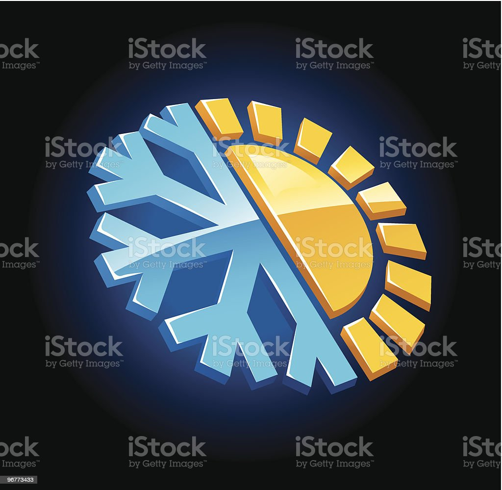 climate Symbol royalty-free stock vector art