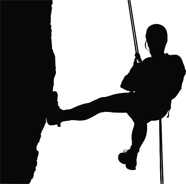 Climber Vector Art Illustration