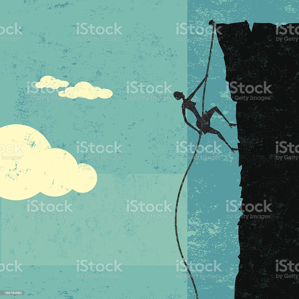 Climbing up royalty-free climbing up stock vector art & more images of achievement
