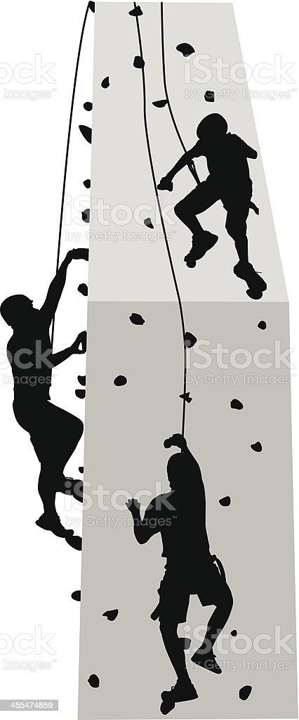Climbing Wall Vector Art Il Ration