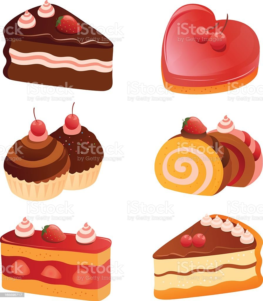 Clip art of pastries and desserts royalty-free clip art of pastries and desserts stock vector art & more images of afternoon tea