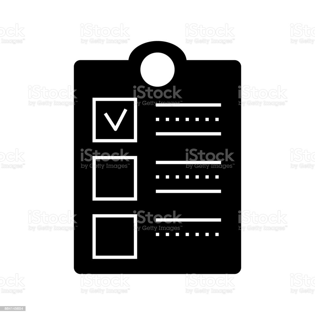 clipboard check  icon, vector illustration, sign on isolated background royalty-free clipboard check icon vector illustration sign on isolated background stock vector art & more images of agreement