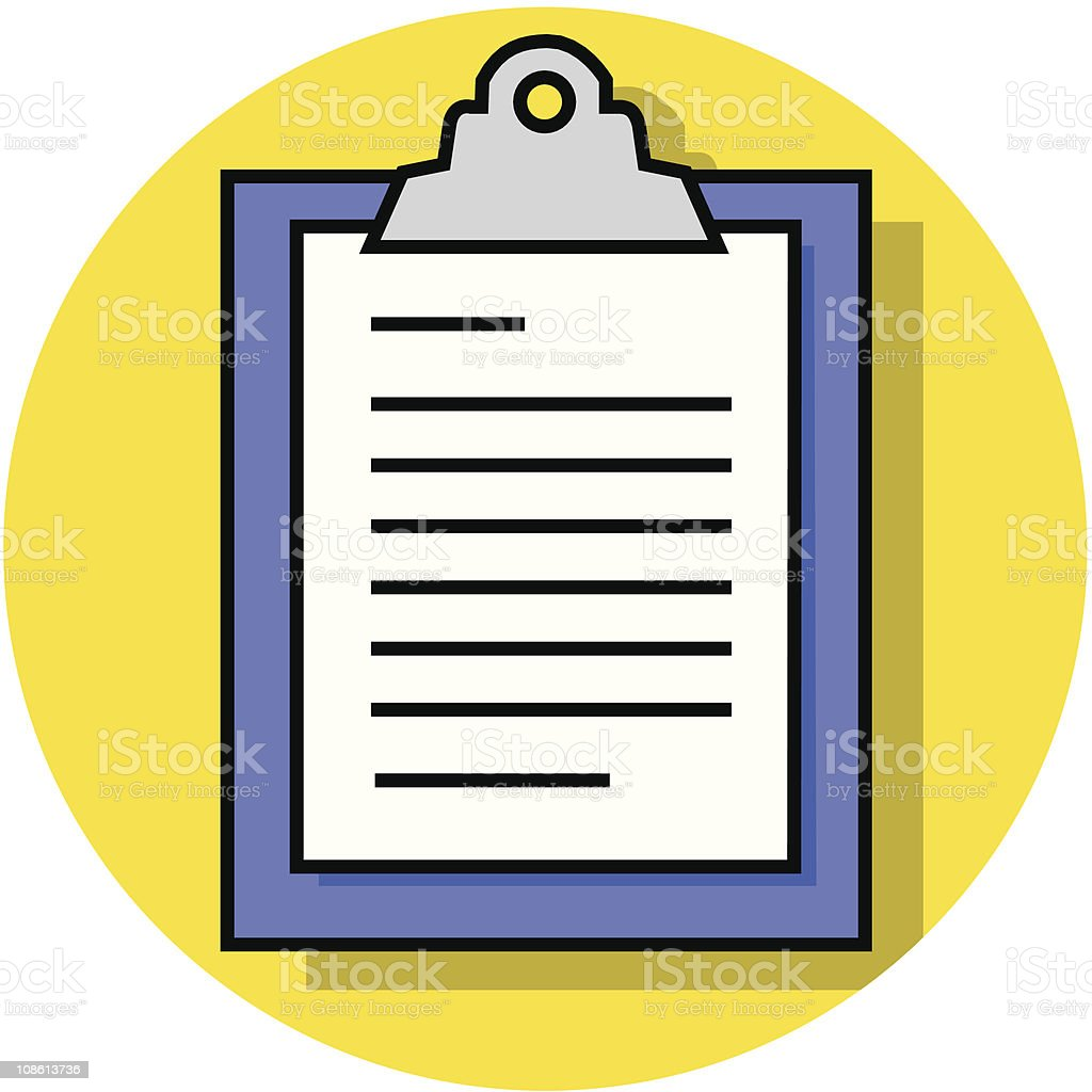 clipboard icon royalty-free clipboard icon stock vector art & more images of business