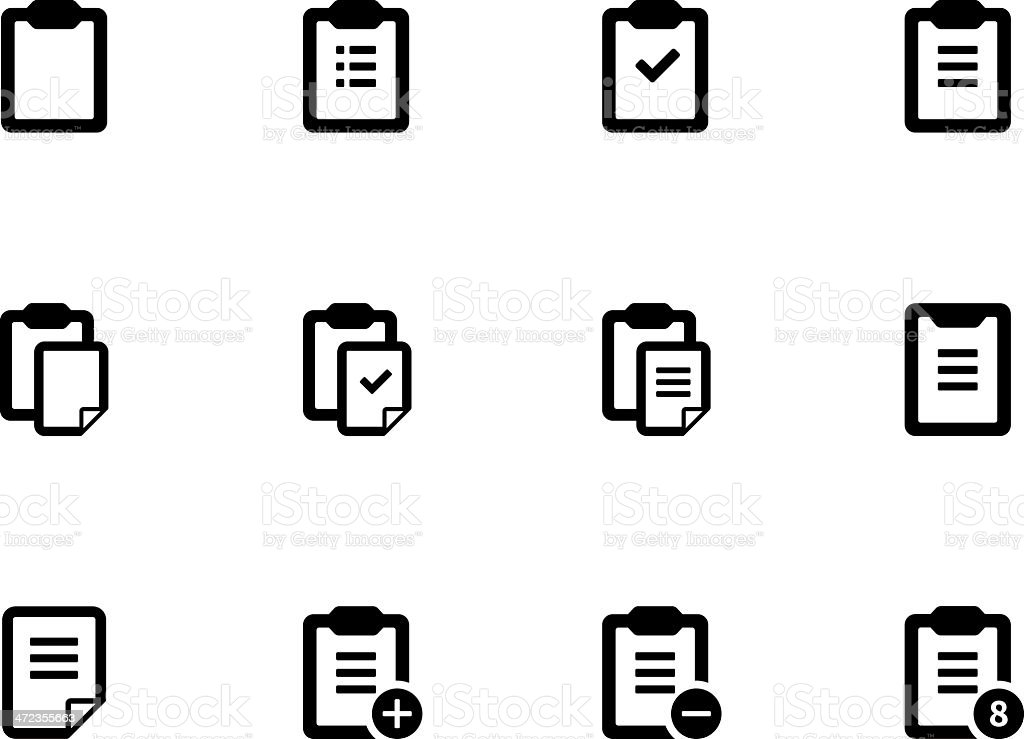 Clipboard icons royalty-free clipboard icons stock vector art & more images of application form
