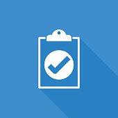 clipboard right icon
