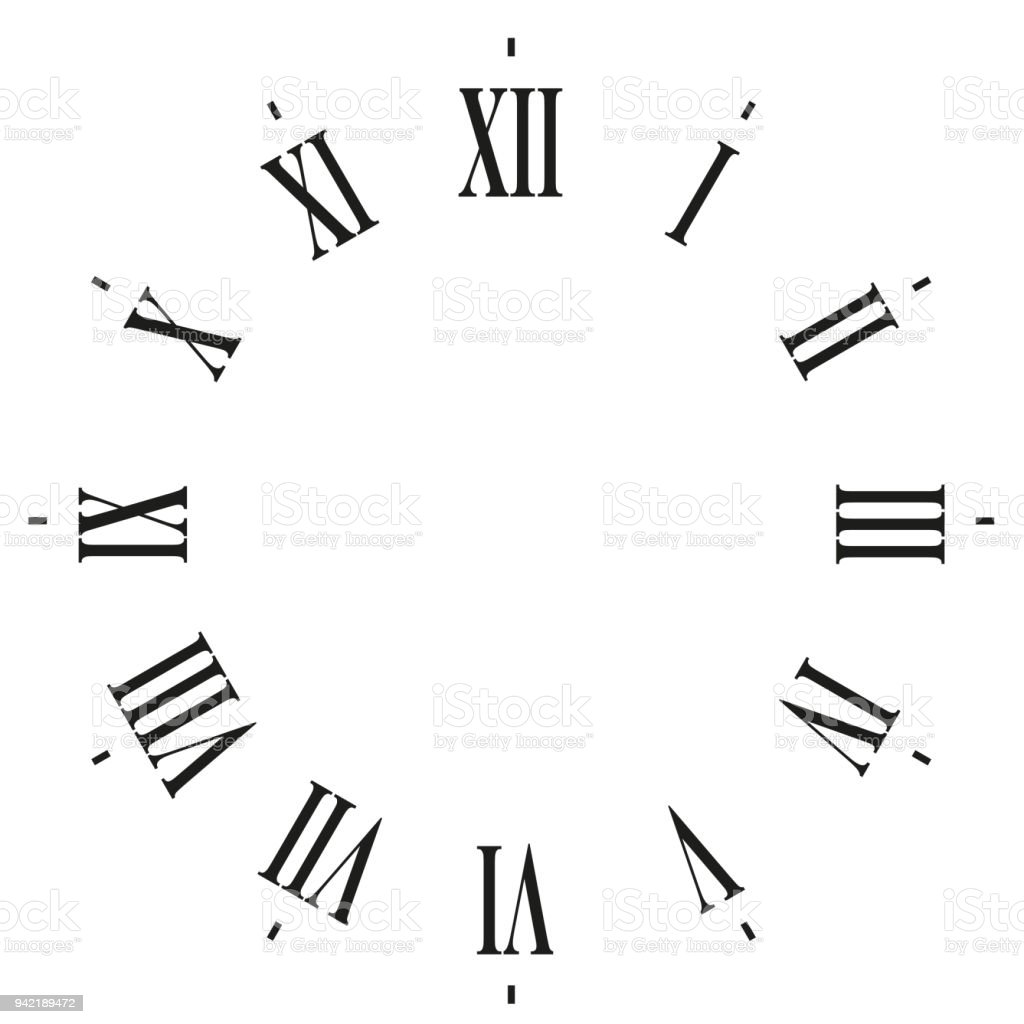 clock face stock vector art more images of circle 942189472 istock rh istockphoto com free vector crockpot images free vector clock face
