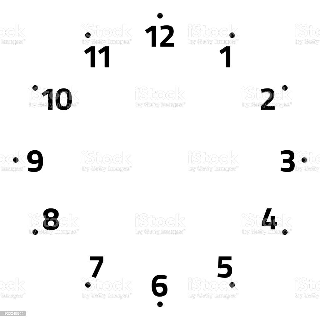 時計の文字盤のベクトル図 アイコンのベクターアート素材や画像を多数ご用意
