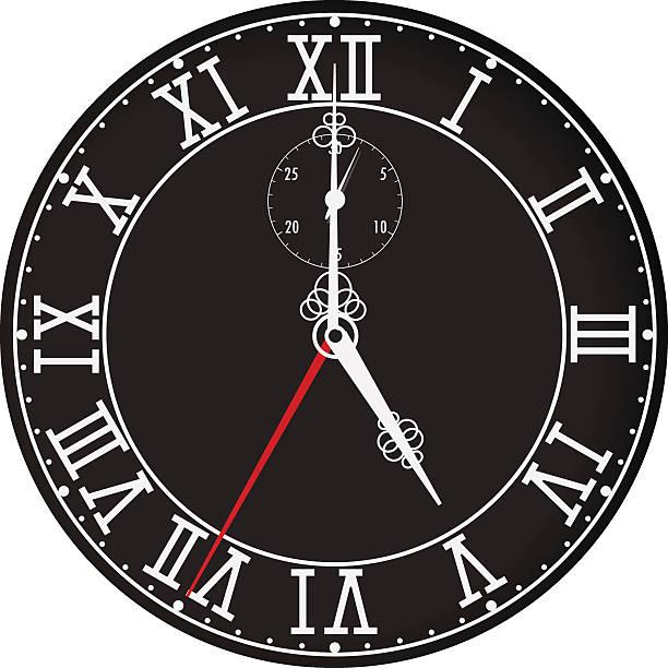 5時 イラスト素材 Istock