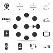 clock Icon. Detailed set of web icons. Premium quality graphic design. One of the collection icons for websites, web design, mobile app on white background