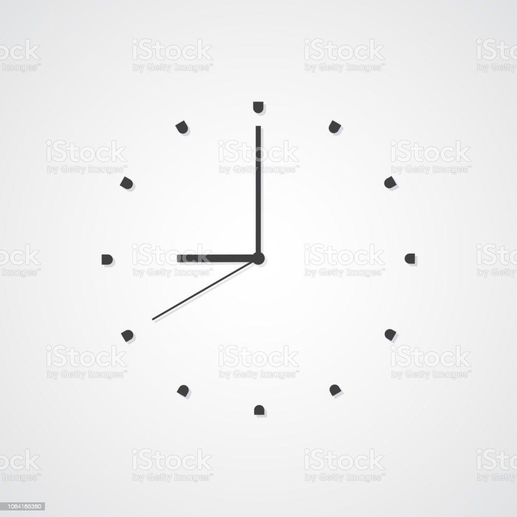 Icono Horario Tiempo Ilustración Espera Reloj Evento De K3Jcu1lTF