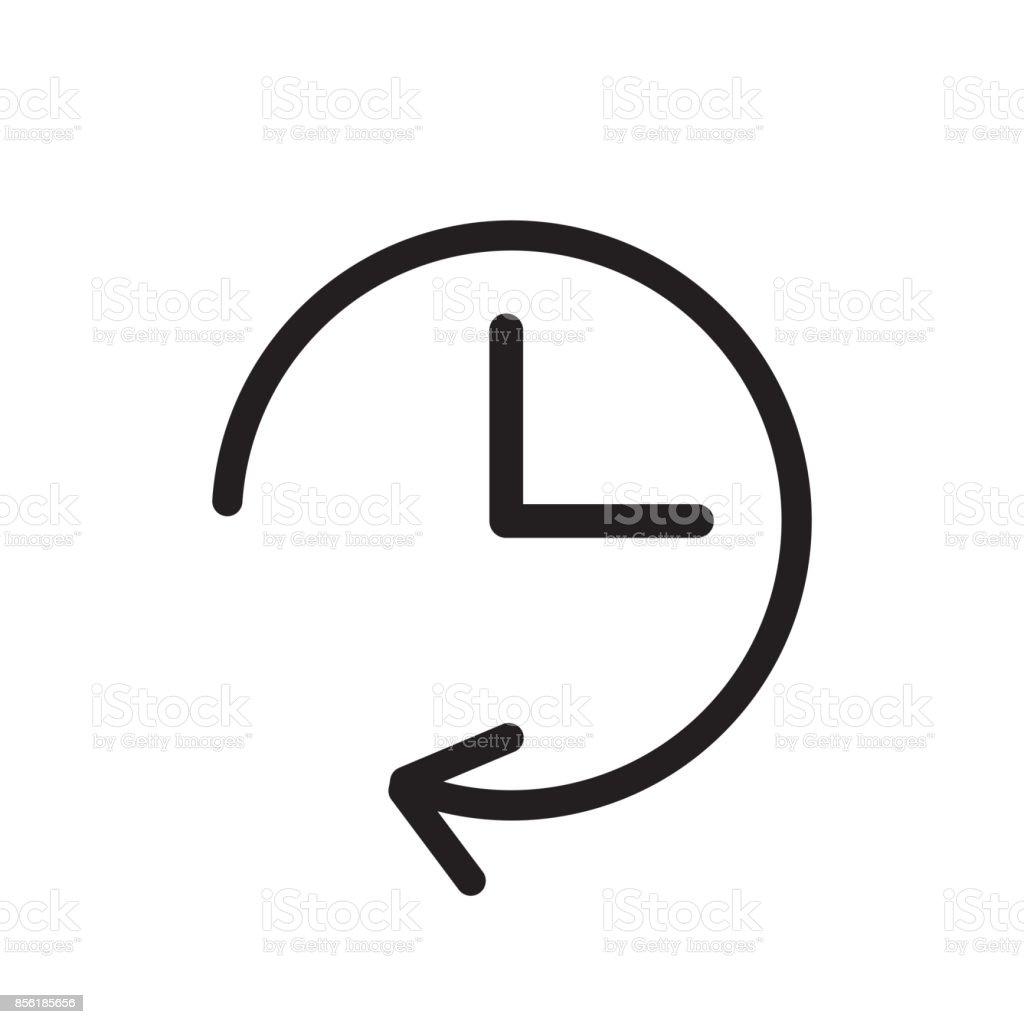 Vektor Uhr