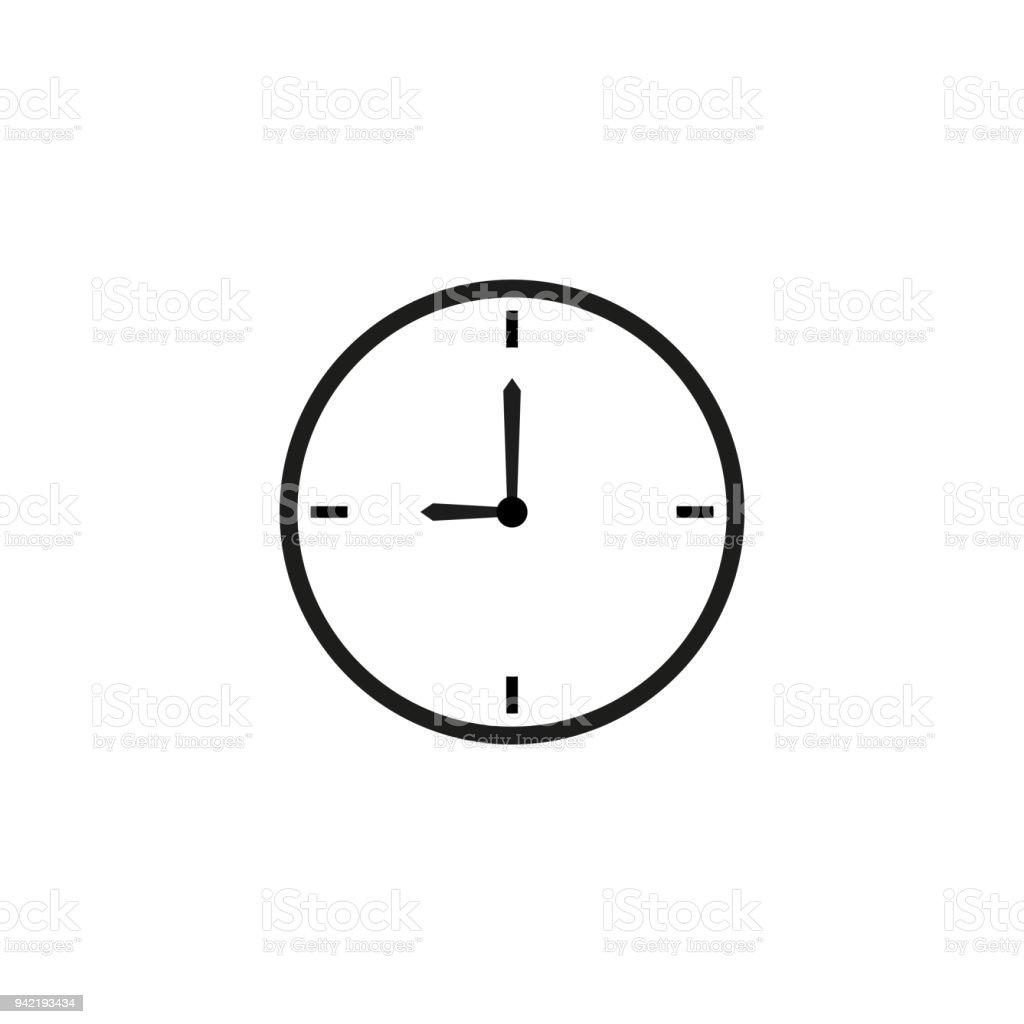 Zeitschaltuhrsymbol Stock Vektor Art und mehr Bilder von Alarm ...