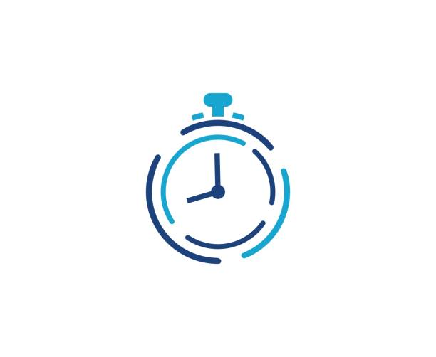 Clock icon This illustration/vector you can use for any purpose related to your business. instrument of time stock illustrations