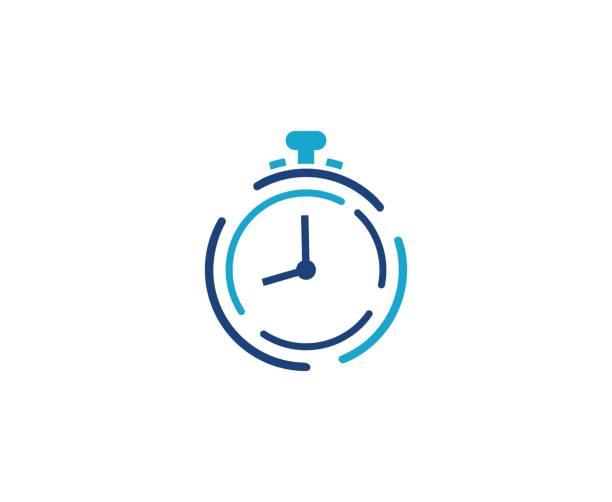 illustrations, cliparts, dessins animés et icônes de icône de réveil  - horlogerie