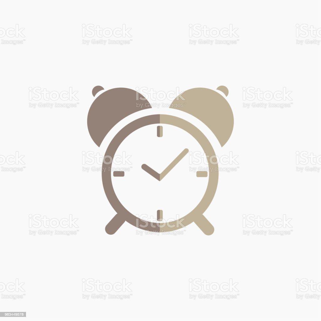 Icône de l'horloge. Illustration vectorielle - clipart vectoriel de Affaires libre de droits