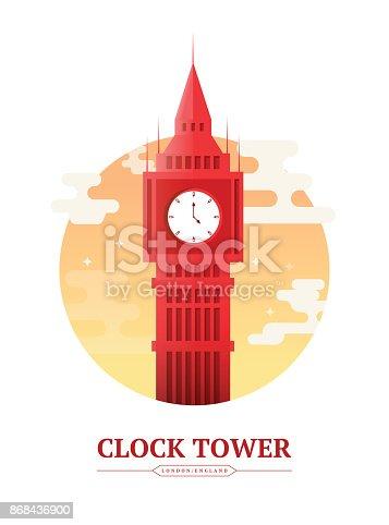 Clock Tower London England
