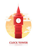 Clock Tower London England