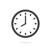 istock Clock vector icon isolated 931336618