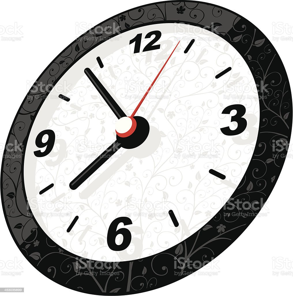 Clock royalty-free clock stock vector art & more images of beauty