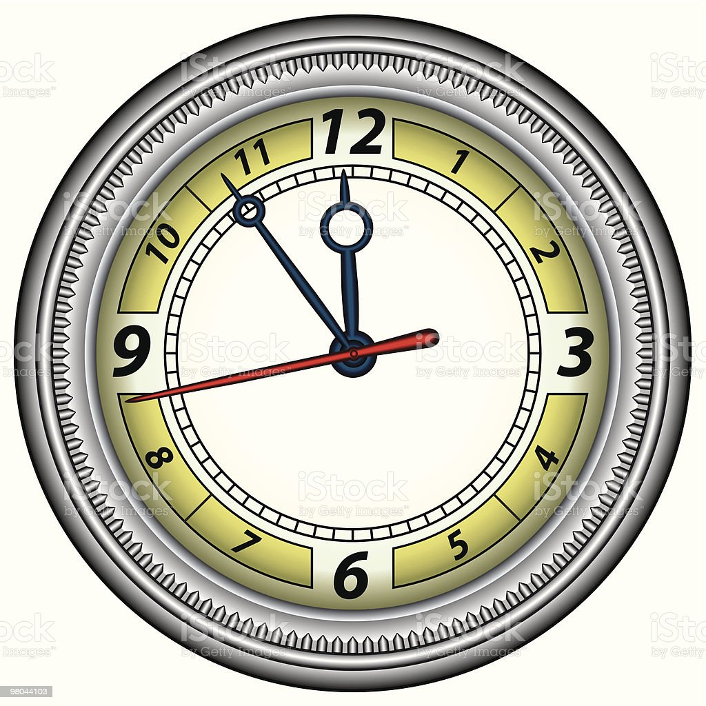 Clock royalty-free clock stock vector art & more images of accuracy