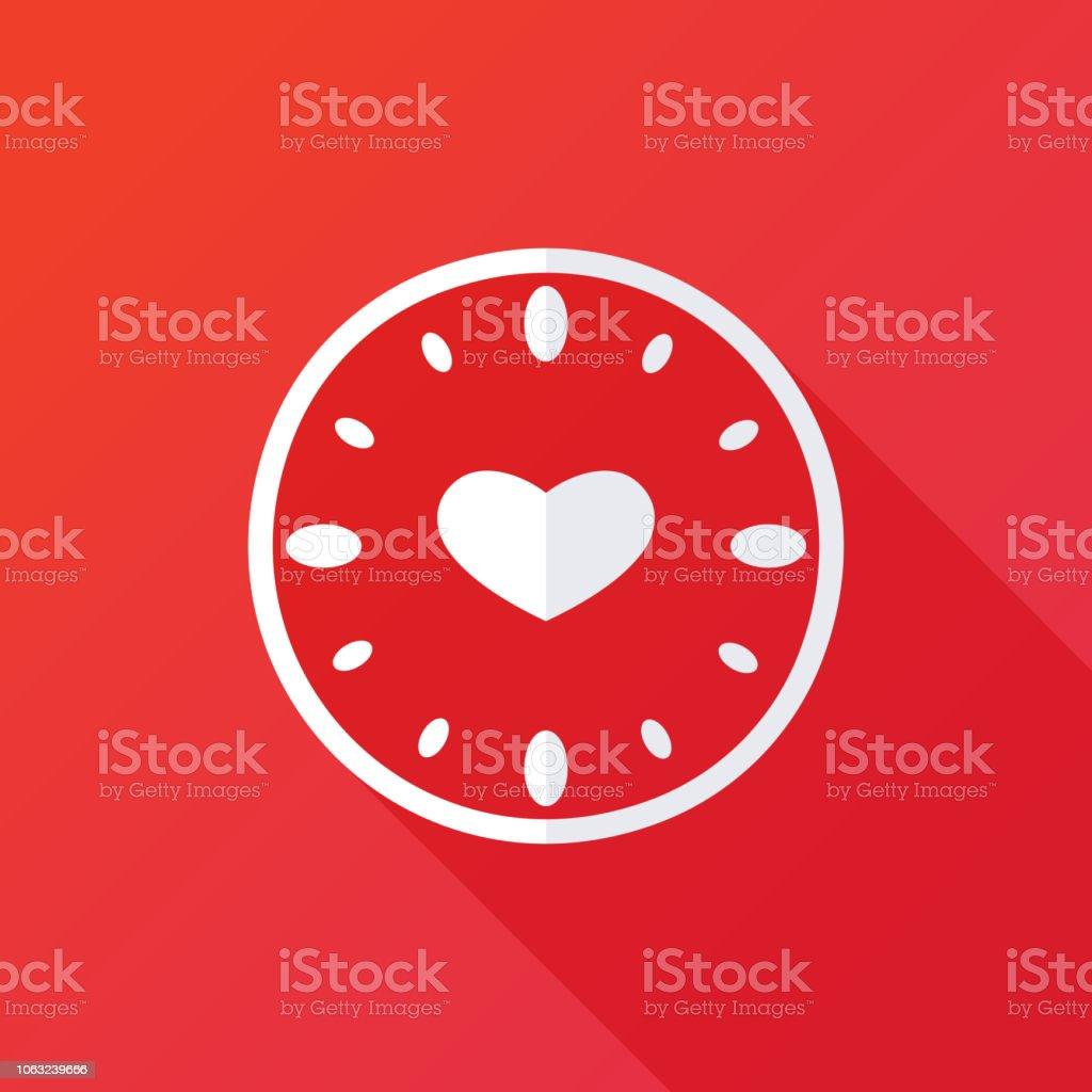 Kalp Ile Saat Hicbir Dakika Ve Saat El Ile Sonsuza Dek Gercek