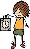 istock Clocking in 455597075