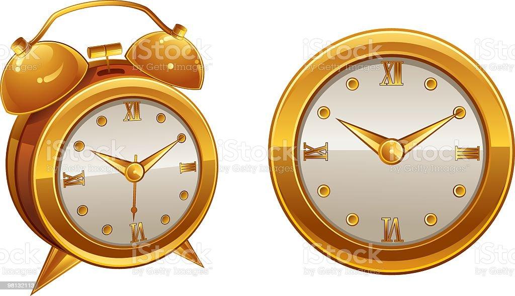 clocks royalty-free clocks stock vector art & more images of alarm clock