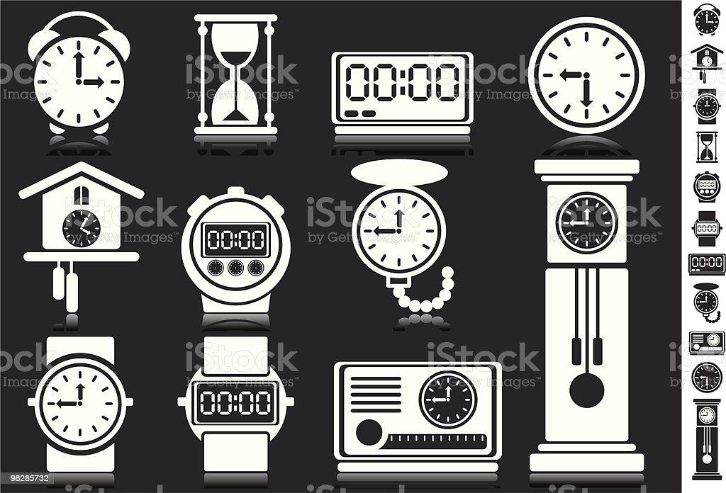 Orologi da polso orologi da polso - immagini vettoriali stock e altre immagini di arrangiare royalty-free