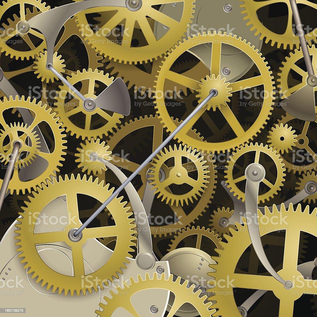 clockwork background royalty-free stock vector art