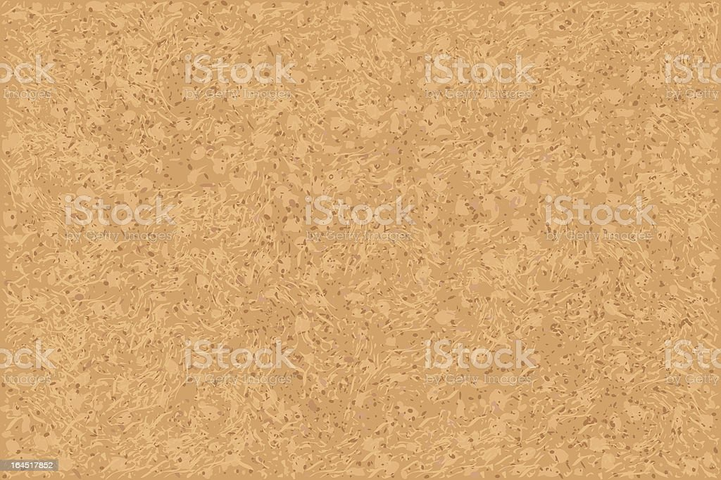 Close up of cork board background vector art illustration