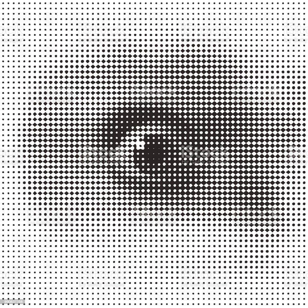 Close up of eye with shocked expression vector art illustration