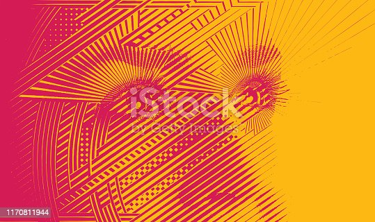 istock Close up of woman's eyes with hopeful expression 1170811944